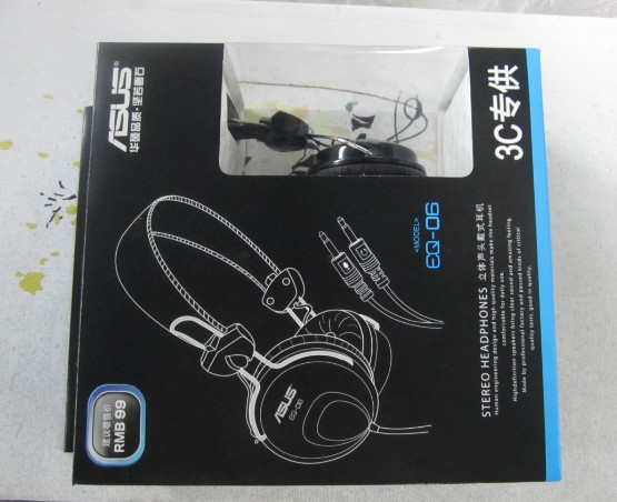 ASUS EQ06 Headset Laptop Desktop Computer Headset ASUS EQ-06 Microphone