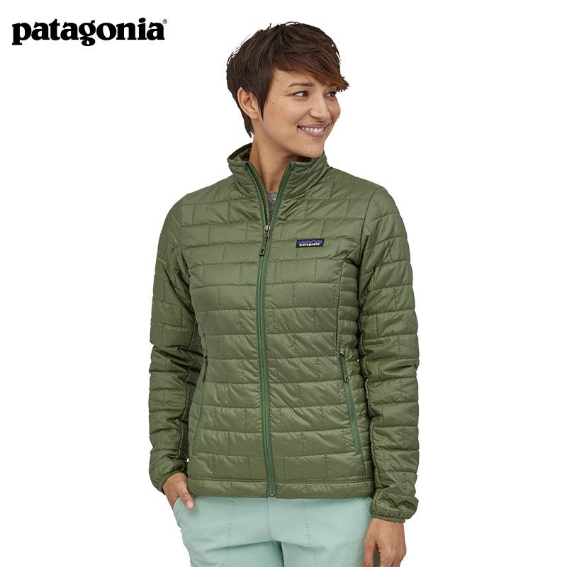Patagonia Patagonia coat autumn winter lady Nano Puff warm ultra-light cotton suit 84217