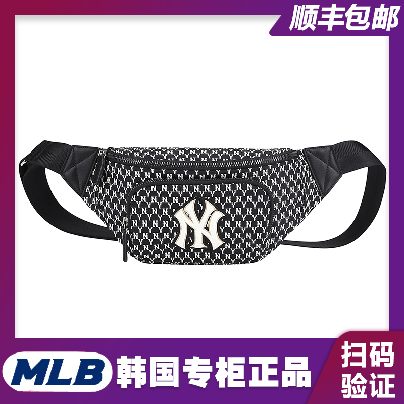 South Korea MLB counter genuine ny new old Yankees sports messenger bag Bodypack ins trend Unisex