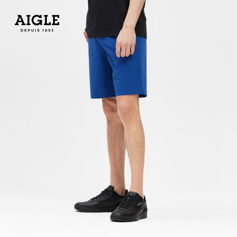 French AIGLE Aigo 2021 spring summer new SIGNATURE M LTR mens short leather casual shoes