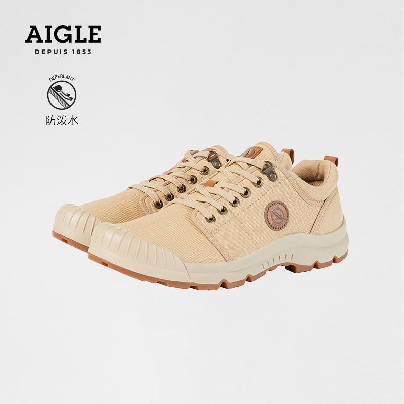 AIGLE AIGAO TL LOW CVS mens low-gang anti-splash water anti-fouling steam hundred set of stylish oak shoes