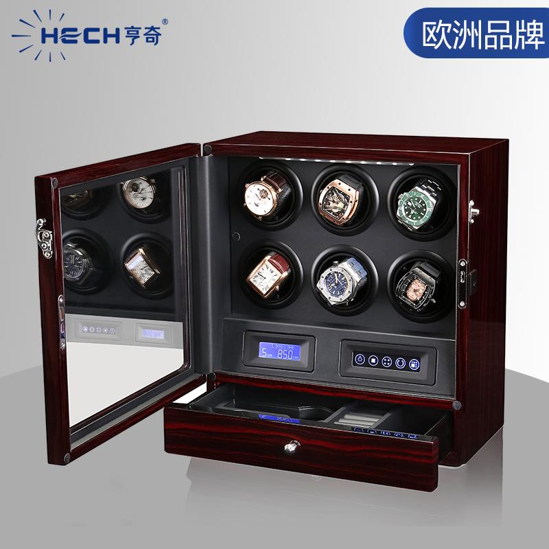 亨奇摇錶器机械錶自动转表器摇摆器家用手錶转动放置器盒德国进口