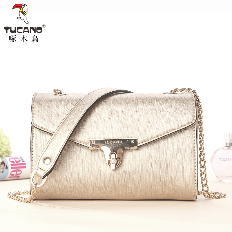 Woodpecker handbag spring and summer fashion chain bag shoulder bag mini Messenger bag small bag Korean version of the small square package new