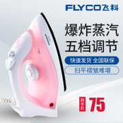 Fly Electric Iron Steam Home Handheld Mini Iron Shunt Антипригарная плинтус Steam Iron Home