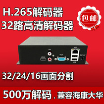 Network Video Decoder Monitor Decoder 32-way Network Decoder HD Decoder TV Wall