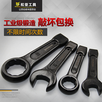 Heavy duty tap wrench straight shank single head opening 24 30 32 36 41 46 50 65 tap plum wrench