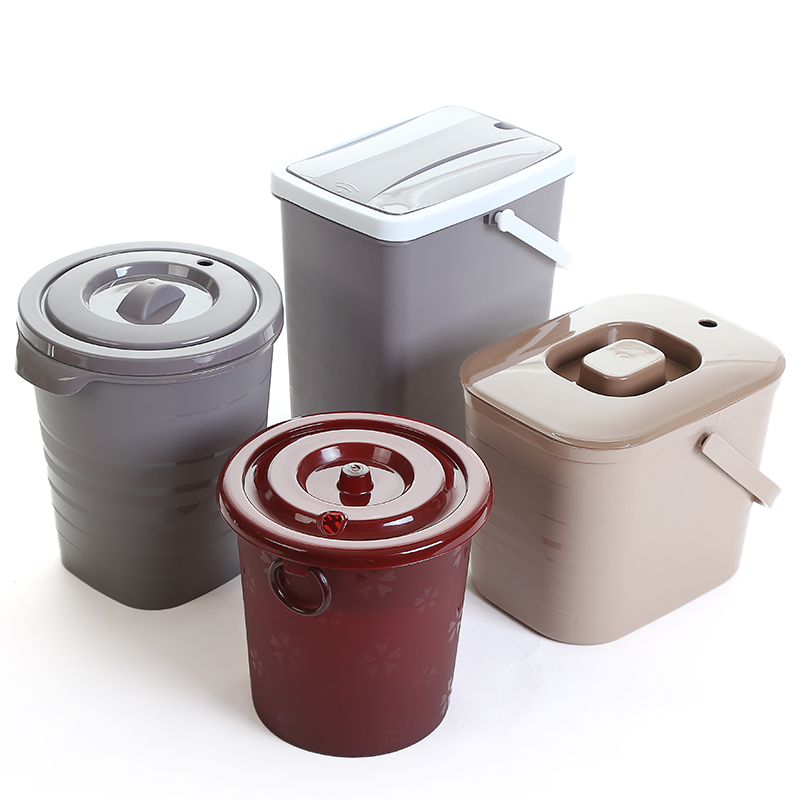 Office household tea slag bucket thick and fall-resistant tea plate water tea bucket large waste water bucket kungfu tea garbage can