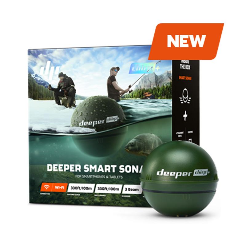 The new fish prospector European DEPER CHIRP HD visual sonar Chinese rafting ice fishing mobile phone fishing device