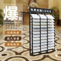 Carrelage échantillon présentoir vertical armoire porte vitrine Couleur Carte Plateau En Aluminium gousset affichage 300 600