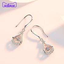 Silver Siheng 925 silver earrings dream drop earrings womens face thin tide 2019 new earrings YSH1914.