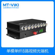 Maxtor dimension moment 8-Way video optical transceiver BNC to fiber coaxial HD CVI AHD monitoring analog transceiver