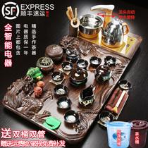 Lensemble de Kung Fu thé ensemble maison salon bureau réunion un bois massif atomisé thé plateau thé mer