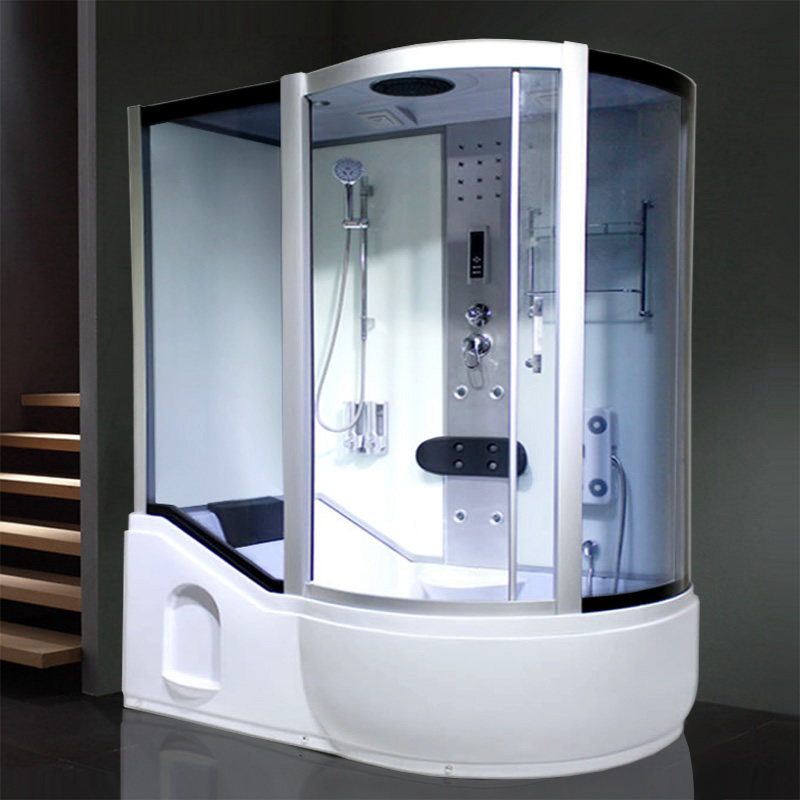 Pliocene Jue integral shower room with bathtub and sauna bathroom