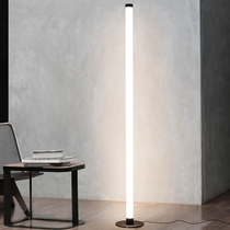Ground lamp living room creative personality simple modern Nordic bedroom led bedside lamp vertical ins wind net red lamps
