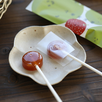 (Lamb forest childrens hawthorn lollipop)Handmade candy without adding baby throat health appetizing snacks