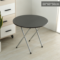 Simple modern dining table Portable simple table Folding table Simple square table Household simple dining table Dining table