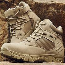Военные сапоги открытый альпинизм обувь мужчины и женщины водонепроницаемый противоскользящие походная обувь специальные военные тактические морские сапоги ультралегкие 07 боевые сапоги