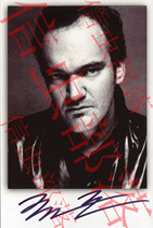 Quentin Tarantino autographié Quentin Tarantino-officiel véritable-collection cadeau