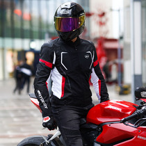 motoboy motorcycle summer riding suit Racing motorcycle suit mens fall-resistant breathable riding knight equipment mesh