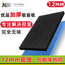 Janier 12MM thickened polyester sound-absorbing panel cinema live room office meeting room wall decoration