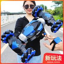 Gesture induction twisting car oversize deformation remote control car high speed 4x4 buggy climbing car boy children toys