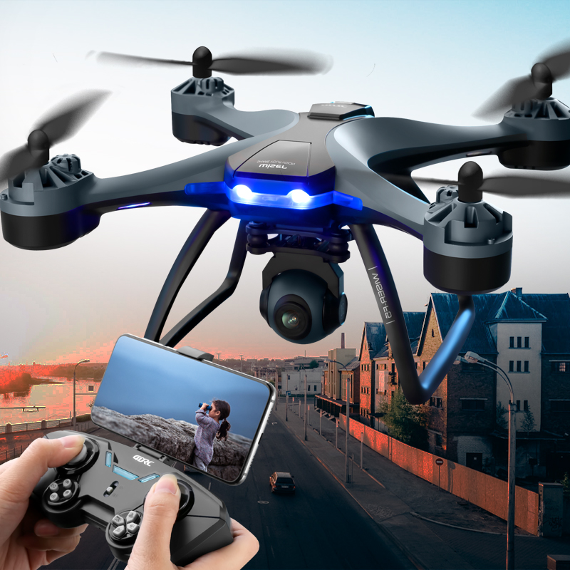 Drone aerial camera HD professional aircraft resistant to falling elementary school children straight-up remote control aircraft toys