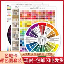 Цвет колеса карты 24 Hue кольцо плакат Morandi цветная карта Китай китайский традиционный набор цветовая карта цветовая палитра цветовая шкала цветовая шкала цветовая палитра цветовая палитра принцип цветового кольца диаграмма цветная кольцевая карта