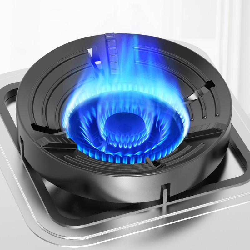 Le poly-feu de poêle à gaz couvre le poêle de gaz naturel cuisine générale cuisine domestique économie d'énergie économie d'énergie vent de table et vent de glissement