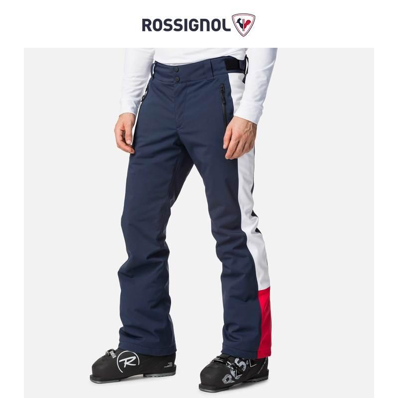 ROSSIGNOL Tommy Hilfiger mens outdoor ski pants 20000 waterproof breathable snow pants elastic