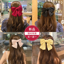 South Koreas net red and 髮 bow clip 2020 new red back-of-the-head 髮 clip 髮 clip