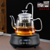 Паровой чайник все стекла варят чайник паровой набор автоматически на гидроэнергетической керамики печь дома белый чай чтобы чай чайник Puer чай