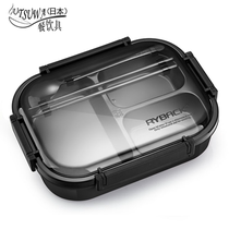 Insulation lunch box stainless steel lunch box student office workers divided grid Lunch Box fast food tray partition type canteen hot plate