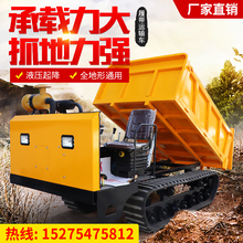 Crawler transporter agricultural Parthenocissus minitype diesel all terrain orchard dump