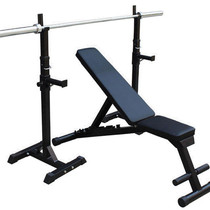 split-type squat rack barbell bench press home gym fitness