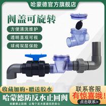 Sewer anti-reverse water check valve Check valve Kitchen sewer pipe check valve Drain pipe anti-reverse water artifact water