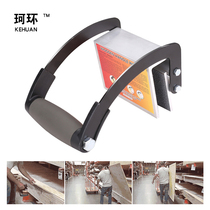 Ring single effort-saving woodworking board F clamp hand-held wrench wood board tool to carry the artifact board lifting tool