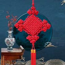 天翊吉中国结挂件大号 玄关客厅背景墙锦纶双线如意结过年装饰