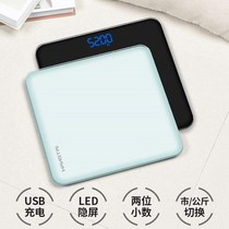 Home schoolgirl adult scale high-precision electronic scale cute health weight meter