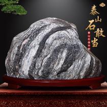 Taishan pierre ose être la pierre originale maison de ville transport bénédiction maison pierre naturelle bureau à lintérieur et à lextérieur du salon chanceux ornements