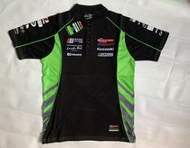 The new moth 託 T-shirt is suitable for Kawasaki racing suit short-sleeved fast dry racing suit MOTOGP off-road vehicle suit