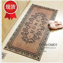 American European-style household outdoor rubber velvet into the door door door door door mats . . . new . . non-slip floor mats