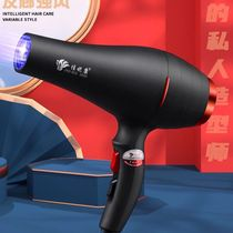 Hair dryer home high-power 髮 special strong wind blue light negative ion hair dryer student dormitory silent speed
