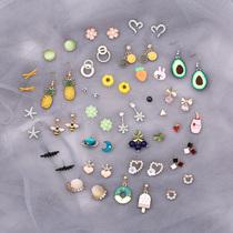 Earrings 2019 new trendy sleep without picking earrings high-end earrings women simple small Korean cold wind