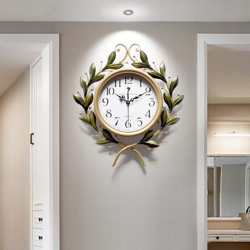 American Decorative Atmospheric Clock, Living Room Art Mute Watch, Creative Fashion Trend, European Home Watch