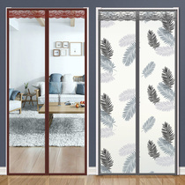 Air conditioning curtain winter warm wind transparent kitchen magnet self-absorption winter wind shelter home partition curtain air conditioning