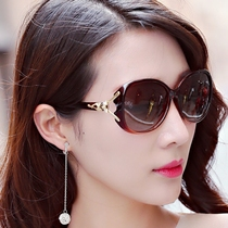 Солнцезащитные очки для женщин INS с бриллиантовой сеткой красные солнцезащитные очки для женщин корейская тенденция женщин поляризованные солнцезащитные очки для женщин УФ-защита