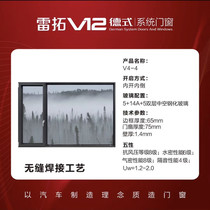 Leito German seamless welding is very easy to open the window 1199 yuan square
