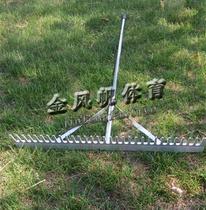 School Athletics Sports Auxiliary equipment high-grade aluminum alloy long jump flat sand plate flat sand rake