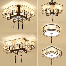 Новый китайский потолочный светильник 2019 Новый Свет гостиной простой современный атмосферный спальня китайский стиль китайский пакет светильников