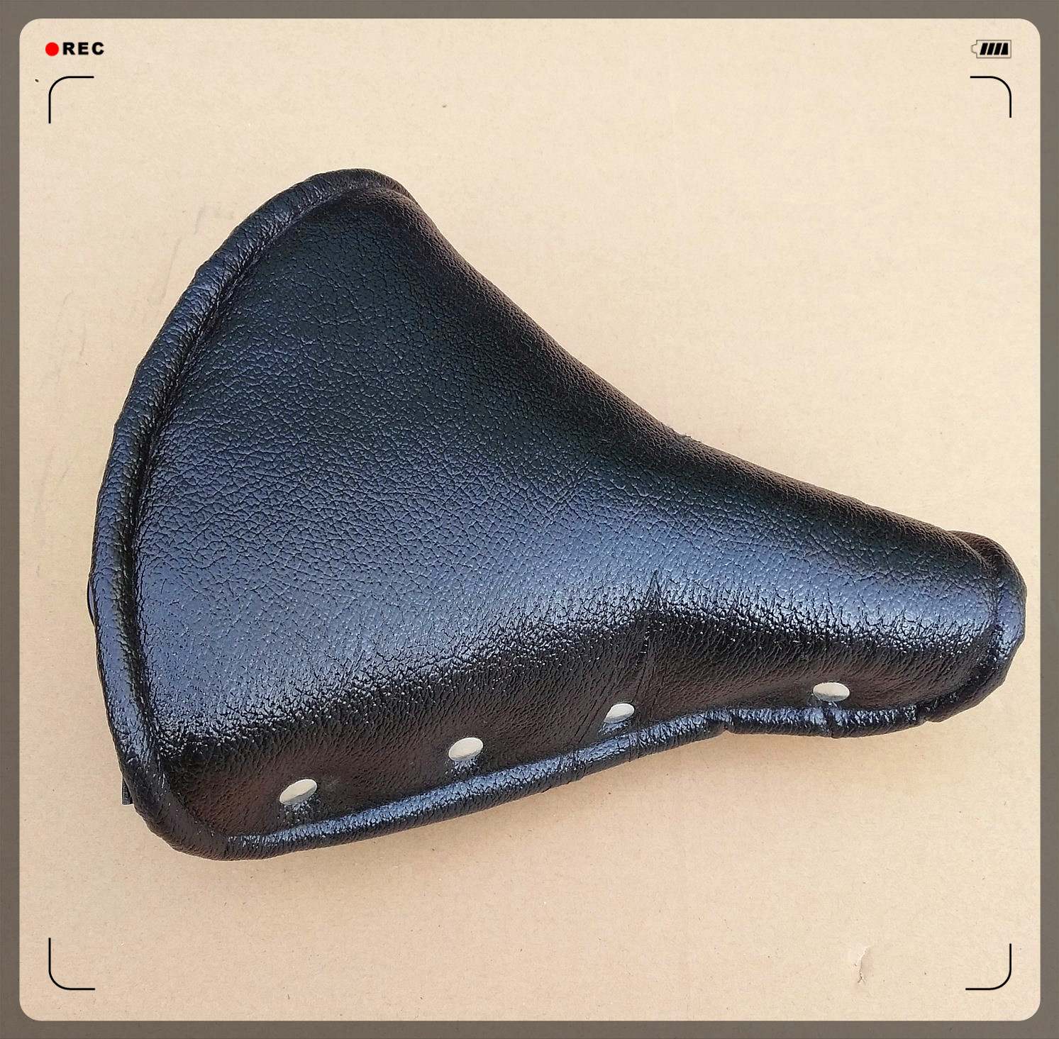Permanent bicycle cushion 26 inch 28 inch old-fashioned car thicker seat tricycle old saddle universal